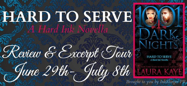 Hard To Serve - Tour banner