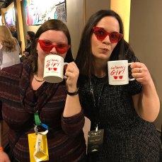 Tessa Bailey and I at Apollycon 2018